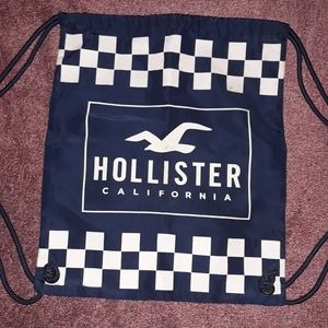 Hollister drawstring bag